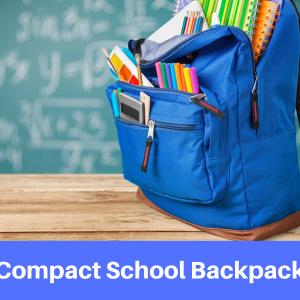 Compact School Bags